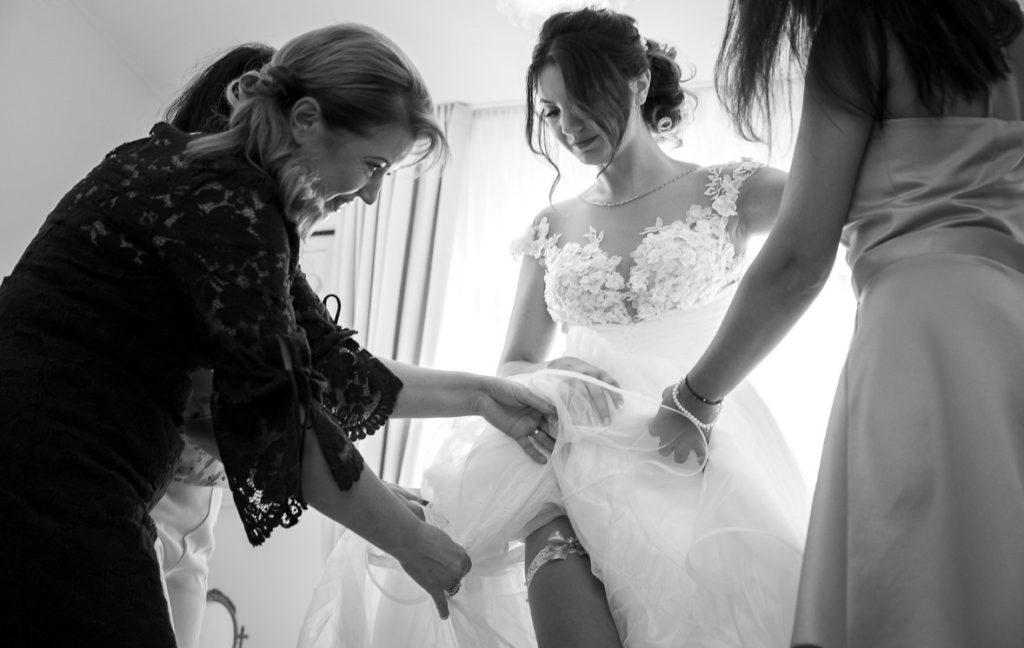 Подготовка к свадебному дню