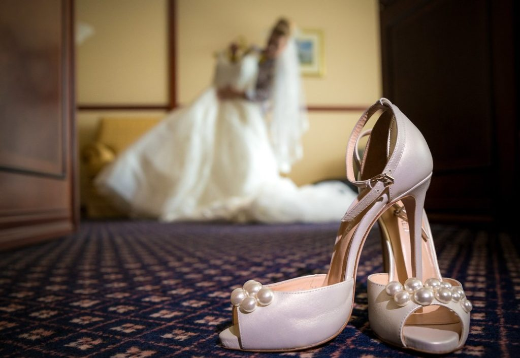фотосессия сборов невесты