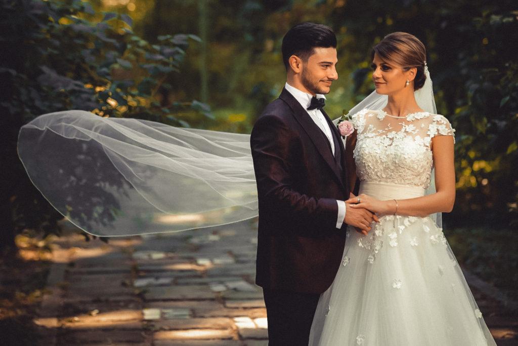портрет невесты и жениха