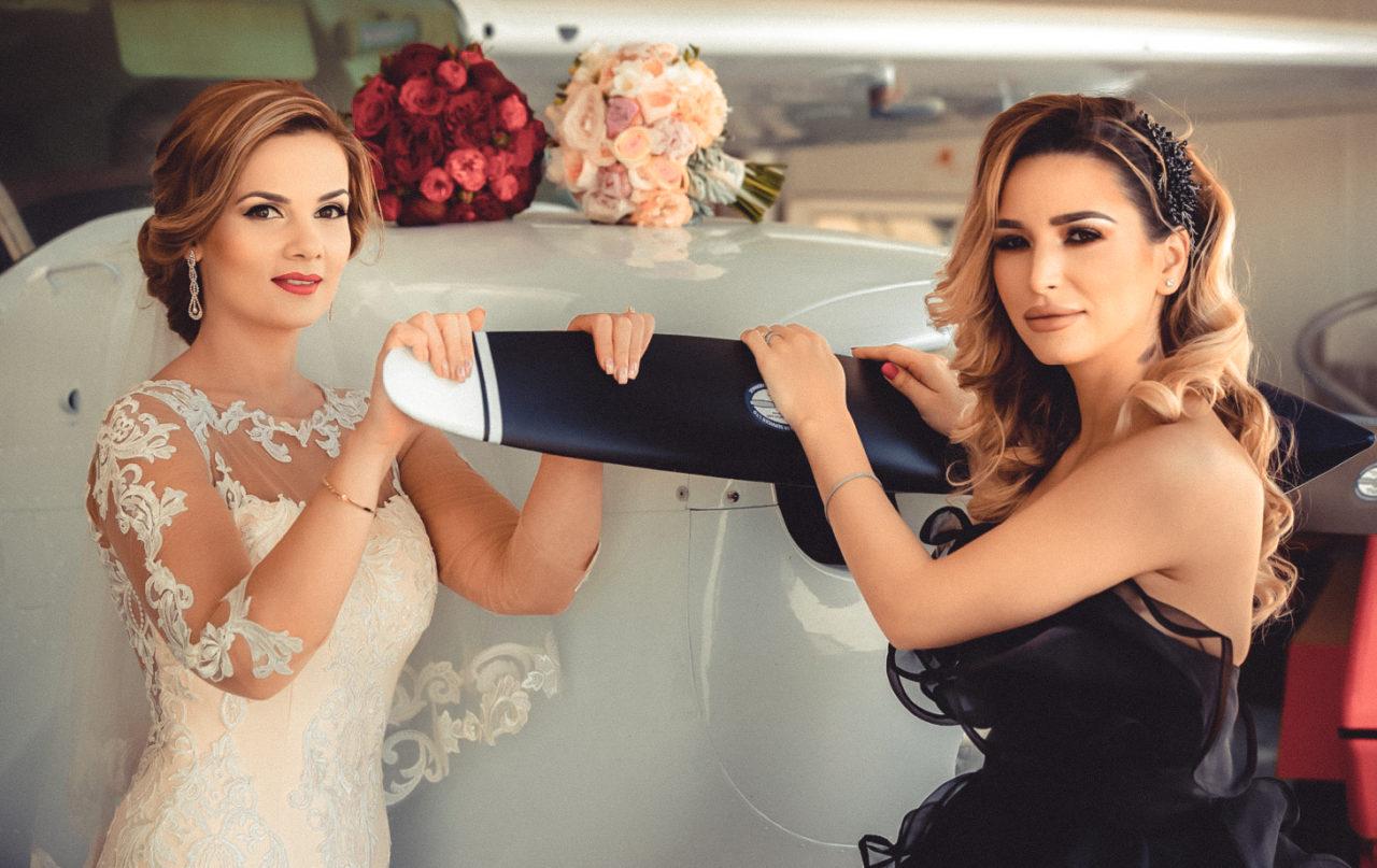 самолет и невеста