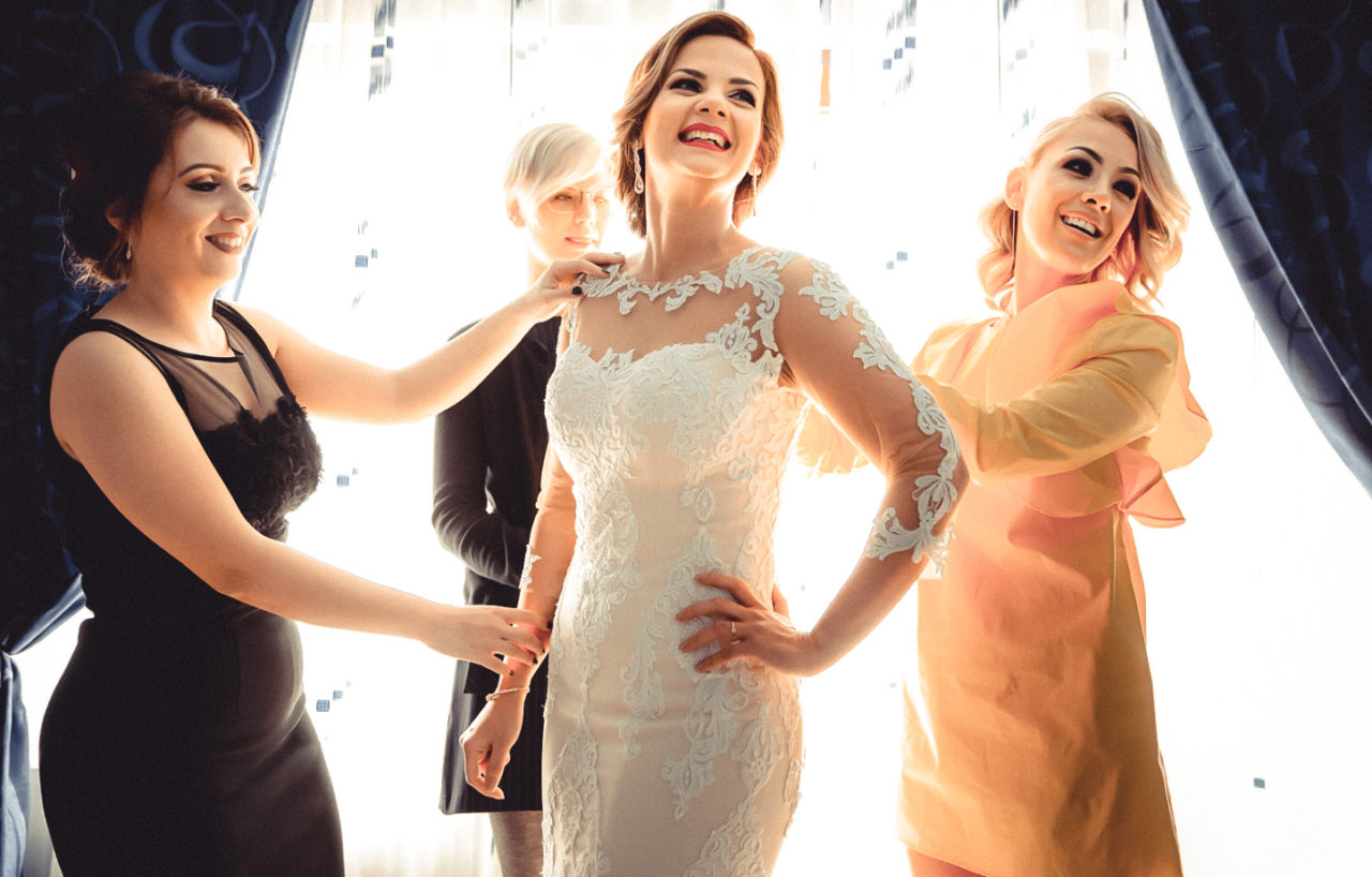 сборы невесты с подругами