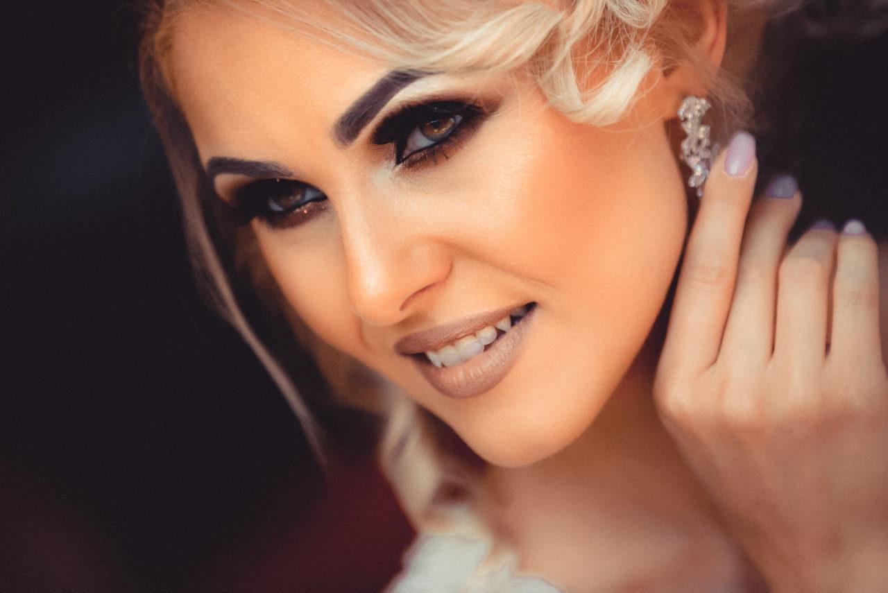улыбка невесты на сборах