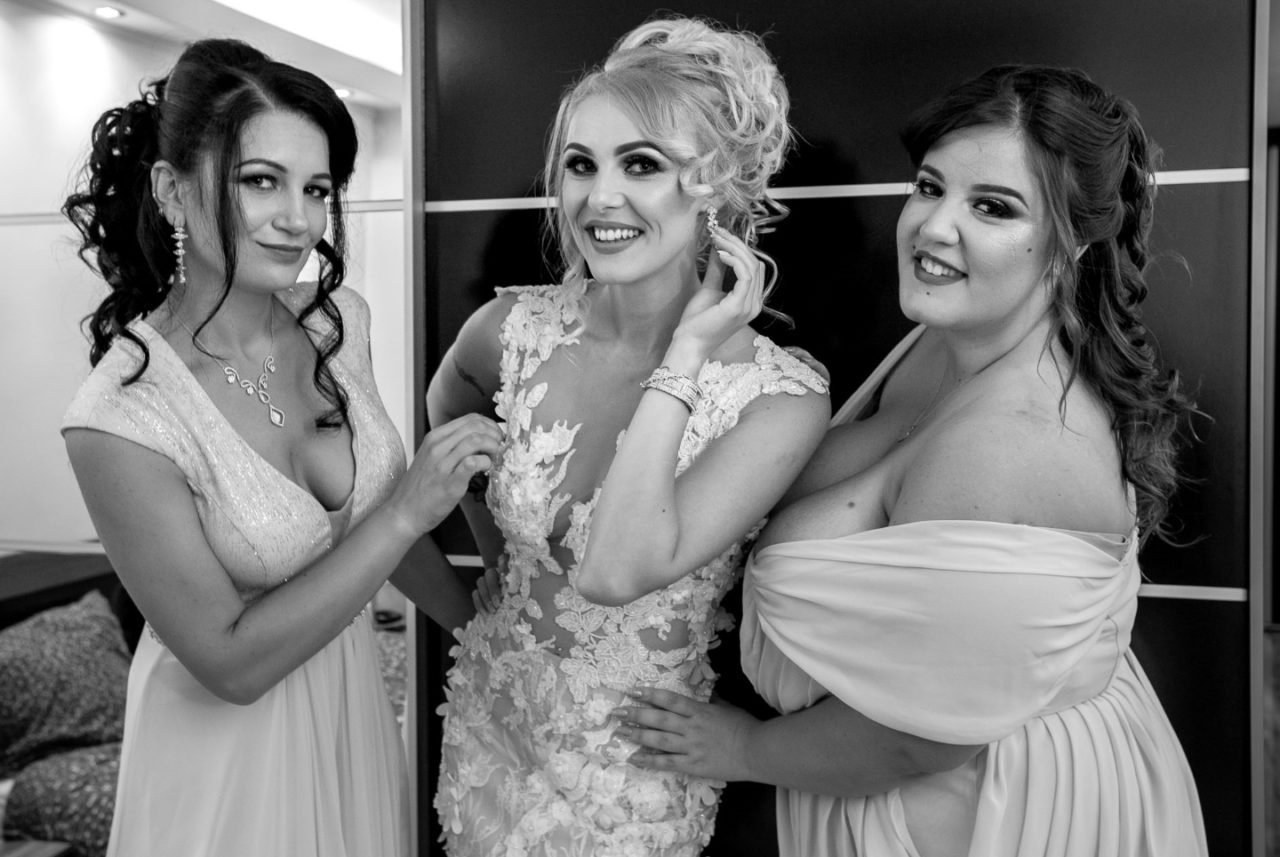 сборы невесты в день свадьбы